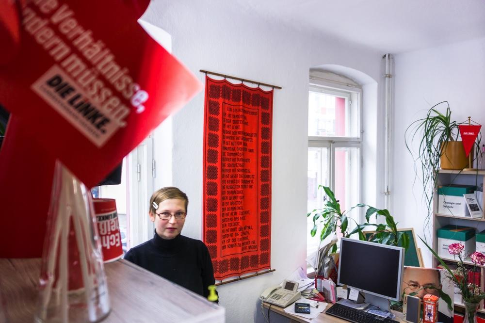 Dresden-Pieschen, Haus der Begegnung, Stadtgeschäftsstelle Die Linke Copyright: Reiko Fitzke / rficture.com